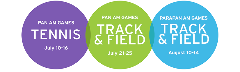 The Pan Am Games will be held July 10-August 15.