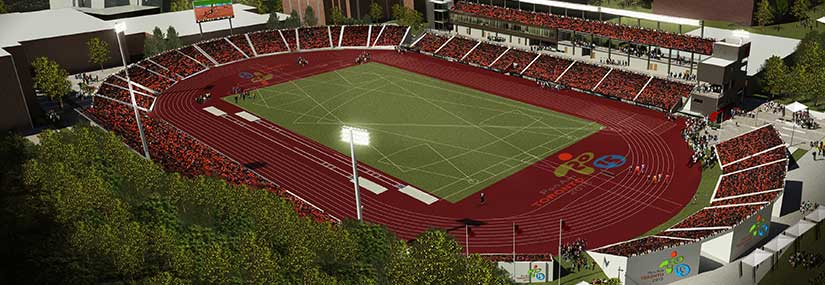 CIBC Pan Am/Parapan Am Athletics Stadium